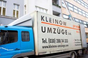 Umzug Berlin mit dem Lkw von Kleinow Umzüge
