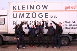 Das Team von Kleinow Umzüge kennt sich aus mit dem Fernumzug