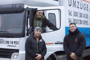 Das Team von Kleinow Umzüge für Ihren Umzug Zehlendorf